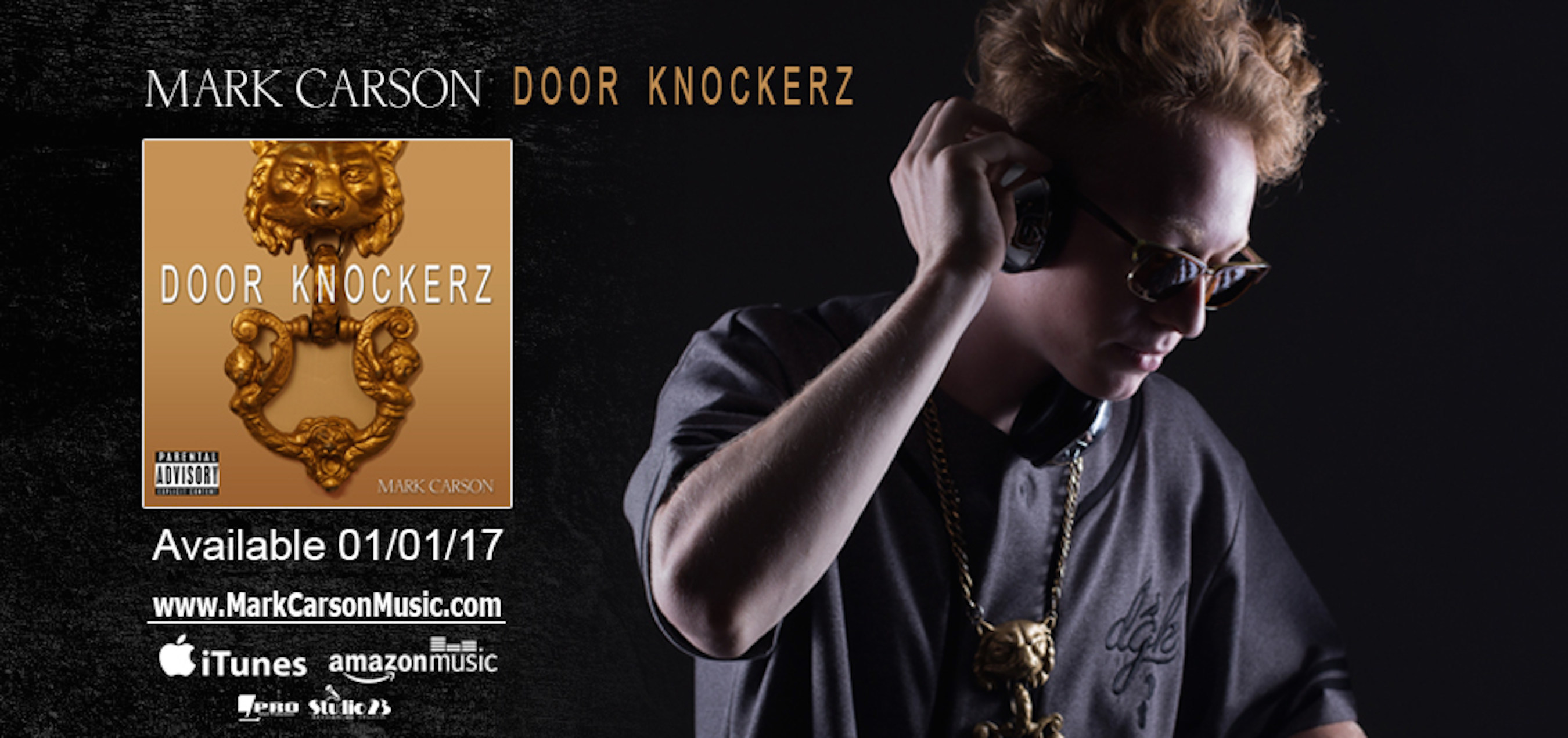 "Recording Artist, Mark Carson, Releases Debut Solo EP ""Door Knockerz"""