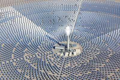 Crescent Dunes Solar Energy Plant is the world's first utility-scale solar thermal facility to feature advanced molten salt power tower energy storage capabilities.