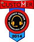 Interactions Receives 2014 CUSTOMER Contact Center Technology Award