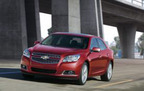 All of the trim levels of the 2013 Chevy Malibu models are in stock at the Naperville and Aurora area Chevy dealership for fantastic prices. (PRNewsFoto/Chevrolet of Naperville)