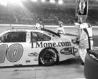 311 adorns the TBR/TMone.com Chevrolet No. 10 in the NASCAR Sprint Cup Series.  (PRNewsFoto/Tommy Baldwin Racing)