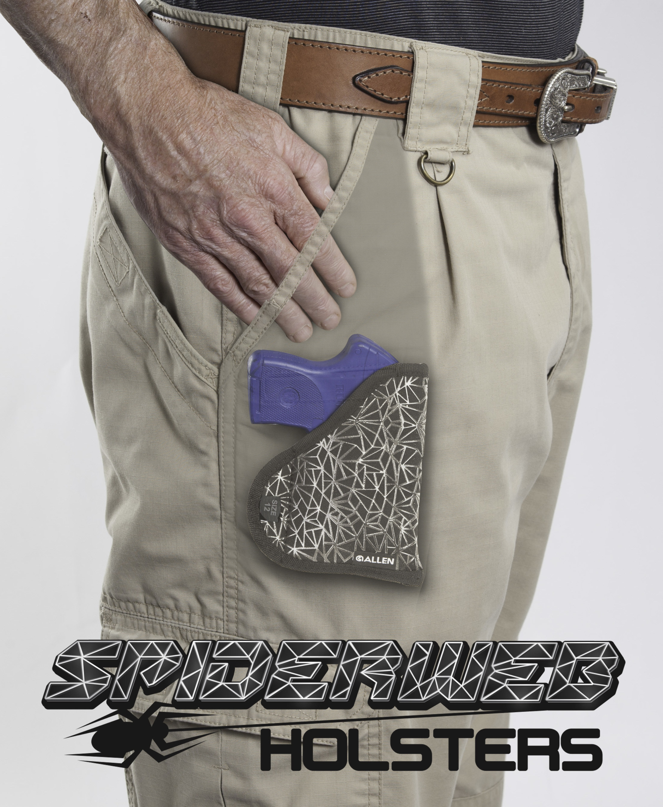 Allen Company Expands Concealed Carry With Spiderweb Holster(TM)
