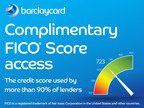 Barclaycard To Offer Cardmembers Complimentary FICO® Scores