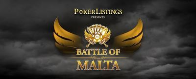 PokerListings Presents the Second Annual 'Battle of Malta' (Sept. 26 - 29, 2013)