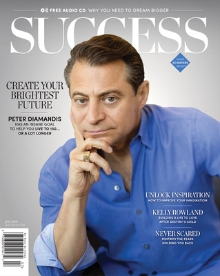 Peter Diamandis, Entrepreneur, Engineer and M.D., Shares How to Live to 150--or Longer--in the July Issue of SUCCESS Magazine