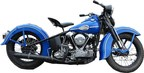 """Sons of Anarchy"" fans can take home a piece of the iconic show via a one-time only auction on ScreenBid.com, including Jax Teller's iconic 1946 Blue Harley-Davidson Knucklehead motorcycle from the series finale. The auction closes throughout the day on Thursday, December 18."