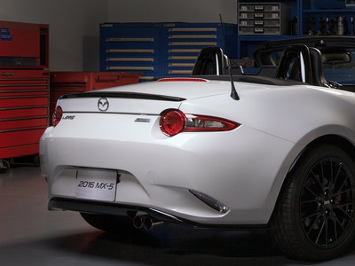 2016 Mazda MX-5 accessories design concept will make its debut at the 2015 Chicago Auto Show