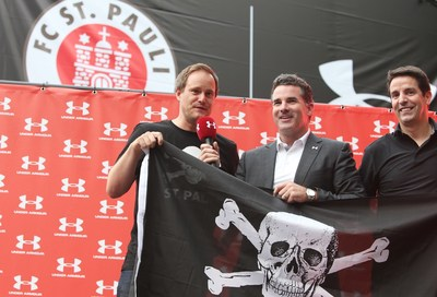 President of FC St. Pauli Oke Goettlich, CEO and Founder Under Armour Kevin Plank, President of International Under Armour Charlie Maurath