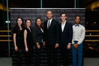 Daphne Fernberger, Juilliard; Michele Carter, Juilliard; Sharlee Jeter, President, Turn 2 Foundation; Derek Jeter; Taner Van Kuren, Juilliard; Leiland Charles, Juilliard.  (PRNewsFoto/Movado Group, Inc.)