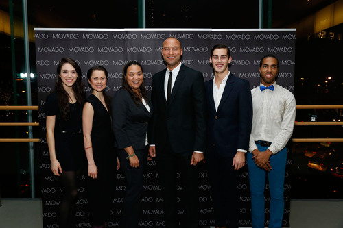 Movado Hosts a Special Event at The Juilliard School for Derek Jeter's Turn 2 Foundation