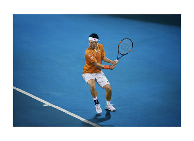 Nishikori's model game wear for the Australian Open Tennis Championships 2016