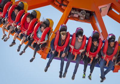 Enjoy gravity-defying hang-time on Delirium!