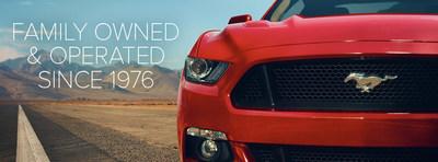 Matt Ford, a Ford dealer servicing Blue Springs, has been a family business since 1976. (PRNewsFoto/Matt Ford)