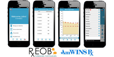 The AmWINS Rx app, developed in partnership with RxEOB, will be available for download on Android and Apple mobile devices summer 2016.