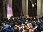 Ambassador Rasool delivers the sermon at a historic Jumu'ah -- Muslim Friday prayers -- in the National Cathedral.
