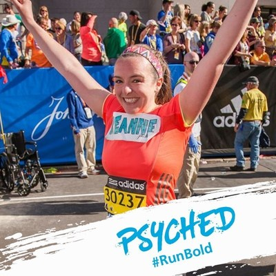 Put yourself on John Hancock's #RunBold Banners