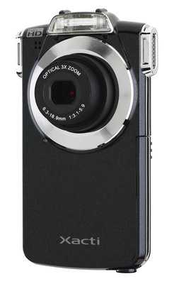 SANYO VPC-PD2 Pocket Dual Camera.  (PRNewsFoto/SANYO North America Corporation)