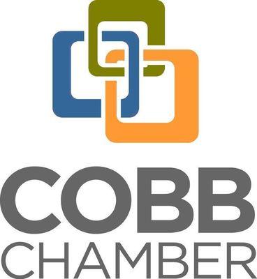Cobb Chamber logo.