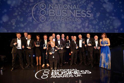 The winners 2013 (PRNewsFoto/National Business Awards, London)