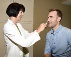 James Van Der Beek receives FluMist Quadrivalent(R) (Influenza Vaccine Live, Intranasal) (PRNewsFoto/AstraZeneca)