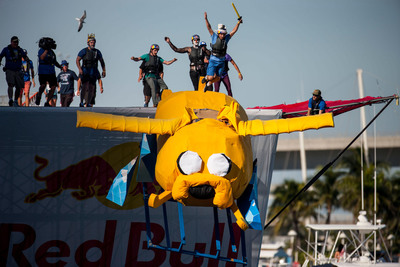 Fly First Class At National Red Bull Flugtag DC. (PRNewsFoto/Red Bull) (PRNewsFoto/RED BULL)