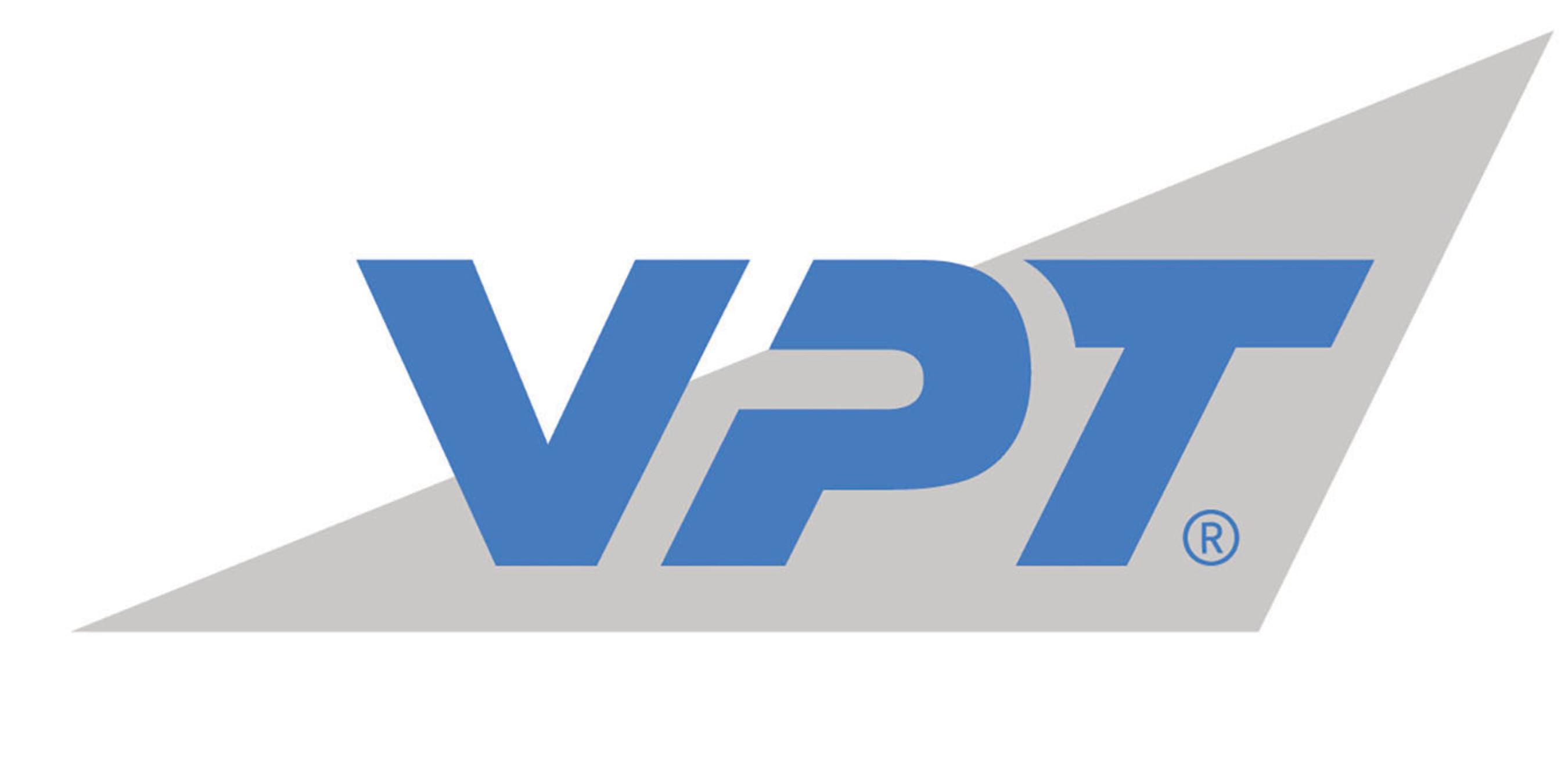 VPT, Inc. logo.