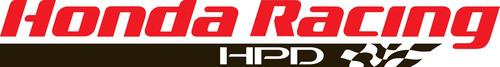 Honda Racing HPD Logo. (PRNewsFoto/Honda Performance Development, Inc.) (PRNewsFoto/HONDA PERFORMANCE ...