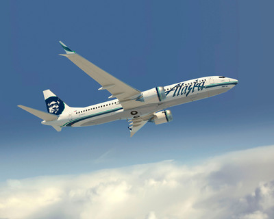 Alaska Airlines announces order for 50 Boeing aircraft including the 737 MAX.  (PRNewsFoto/Alaska Airlines)