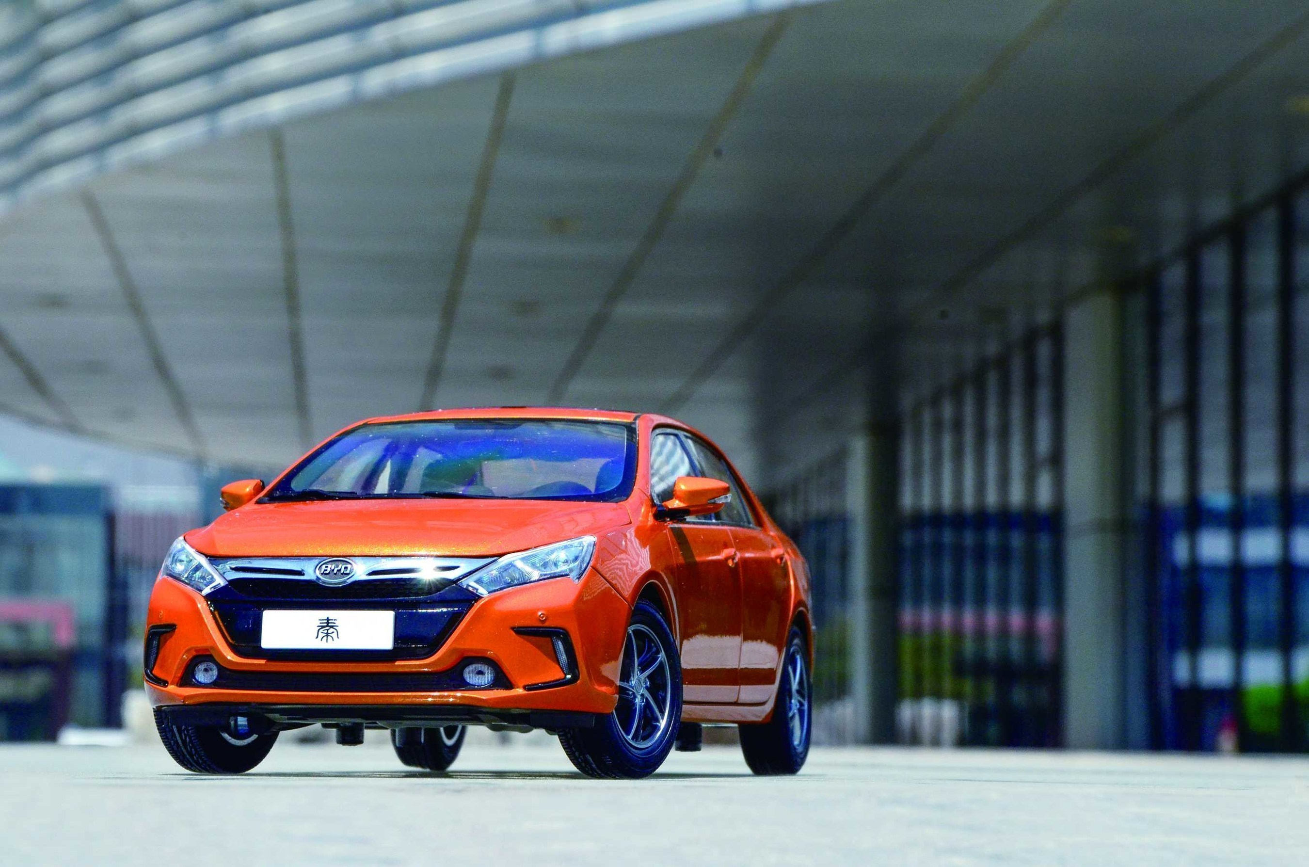 BYD Qin, the world's most popular electric vehicle