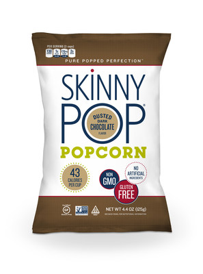 SkinnyPop Dusted Dark Chocolate