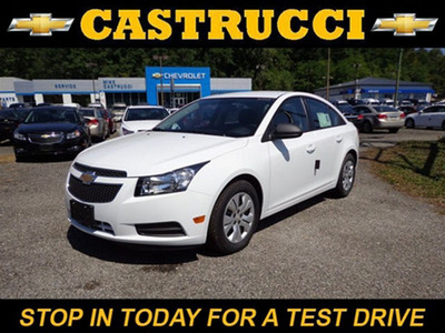 The Chevy Cruze is available at Mike Castrucci Chevrolet.  (PRNewsFoto/Mike Castrucci Chevrolet)