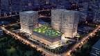 Aerial rendering of Jiahui International Hospital