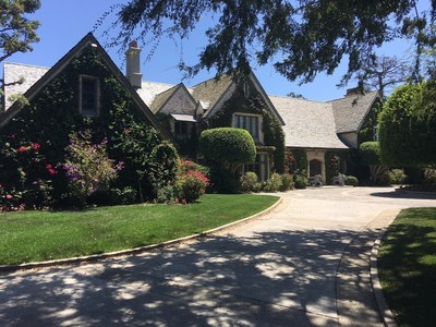 The Playboy Mansion sister house, home of Daren Metropoulos since 2009. He purchased the Playboy Mansion in August of 2016 and intends to eventually reconnect the two estates on the 7.3 acre compound.