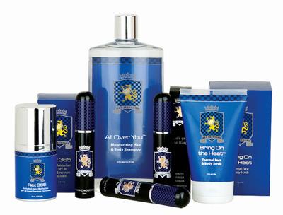 Rex Skin Care new product line for men.  (PRNewsFoto/Rex Skin Care)