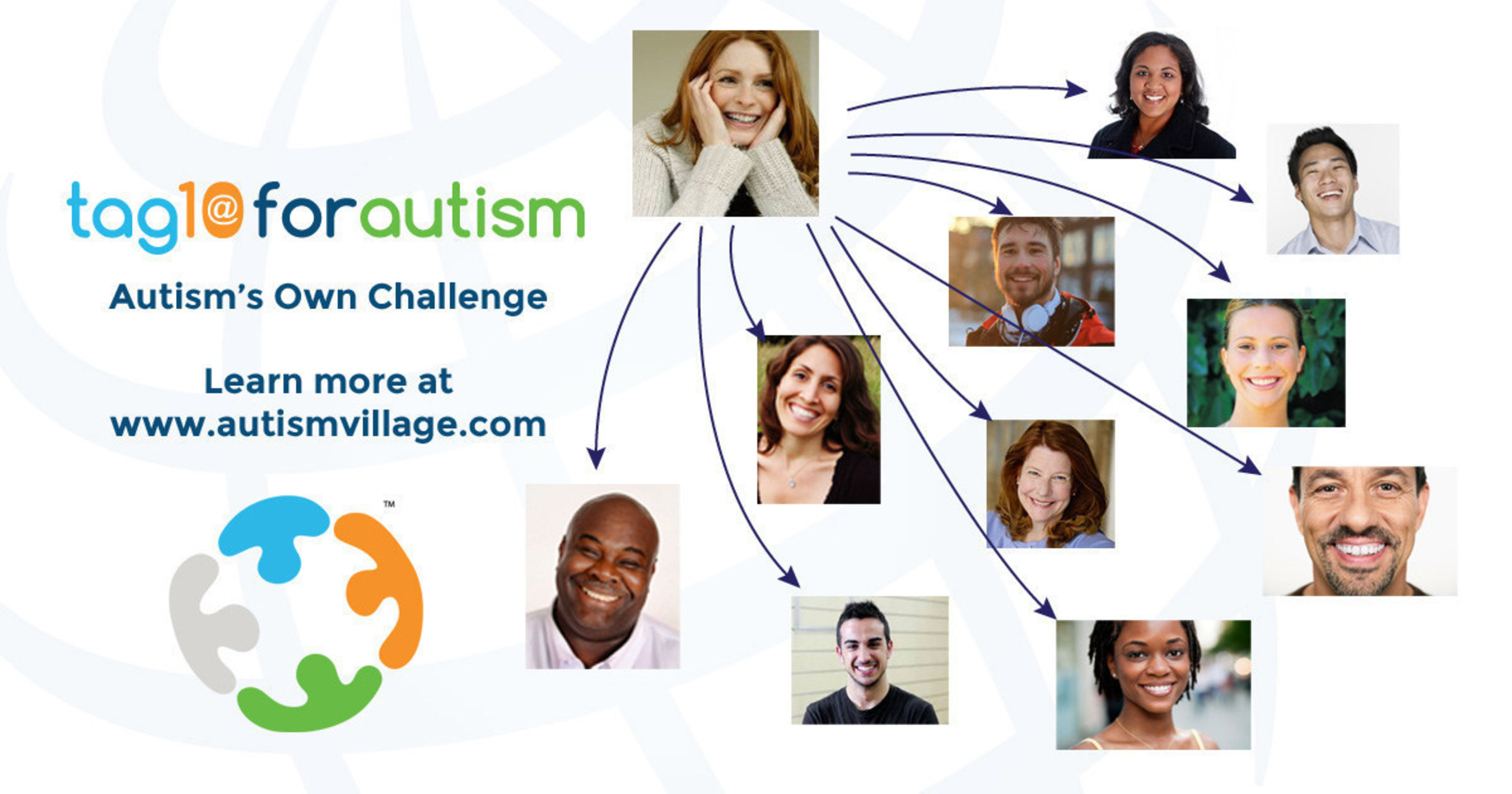 Autism's Own Challenge, #Tag10forAutism