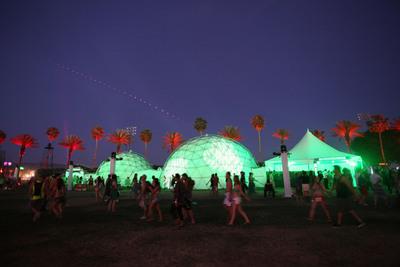 Heineken returns to Coachella for 12th year with immersive Heineken Domes.  (PRNewsFoto/Heineken USA)