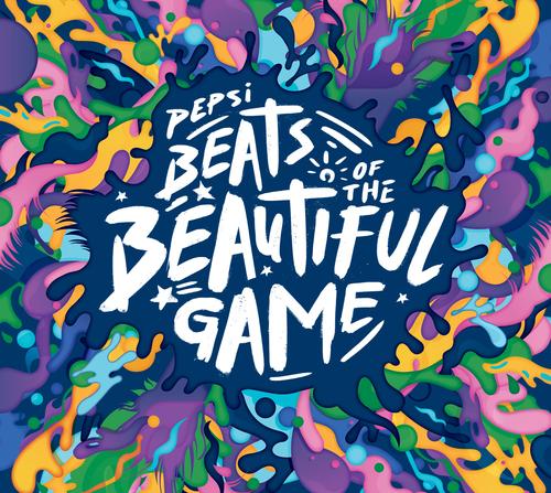 Presentatie van Pepsi® Beats of the Beautiful Game