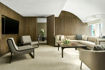 The Caruso Suite at The Knickerbocker Hotel, designed by Gabellini Sheppard Associates