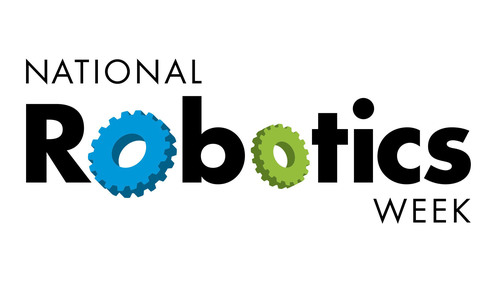 The fifth annual National Robotics Week is being held April 5 - 13. National Robotics Week brings together students, educators and influencers who share a passion for robots and technology.  (PRNewsFoto/National Robotics Week)