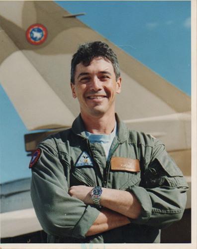 "CAPT Carroll ""Lex"" LeFon USN (Ret) pilot of an Airborne Tactical Advantage Company (ATAC) F-21 Kfir.  (PRNewsFoto/ATAC)"