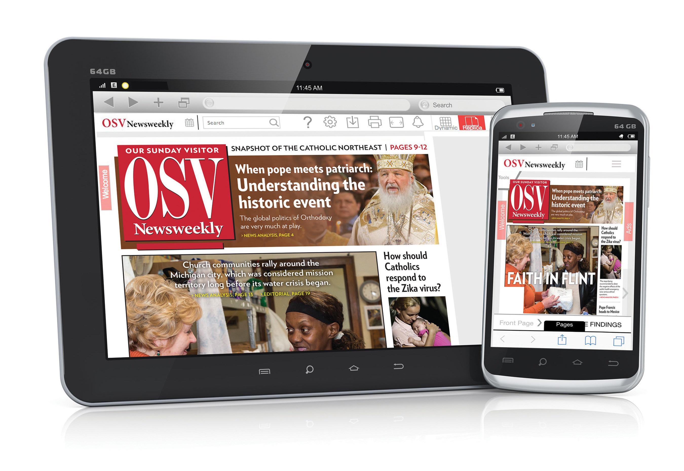 OSV NEWSWEEKLY appare in una nuova versione digitale