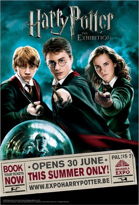 Harry Potter: The Exhibition opens June 30 at Brussels Expo