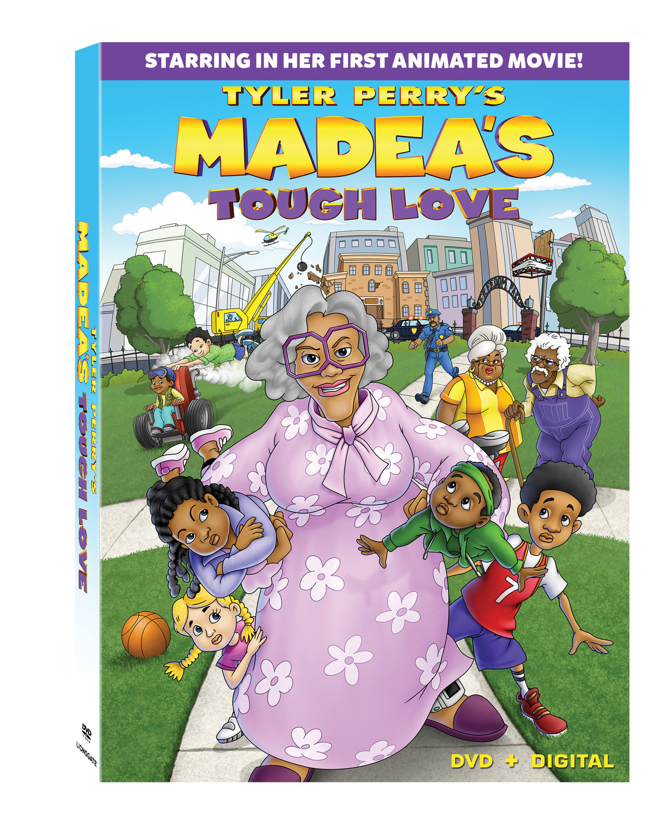 See Madea Like Never Before In Tyler Perry S First Animated Family Film Tyler Perry S Madea S Tough Love