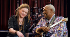 B.B. King and Crystal Bowersox star in OneTouch(R) Life First(TM) diabetes campaign.  (PRNewsFoto/LifeScan, Inc.)