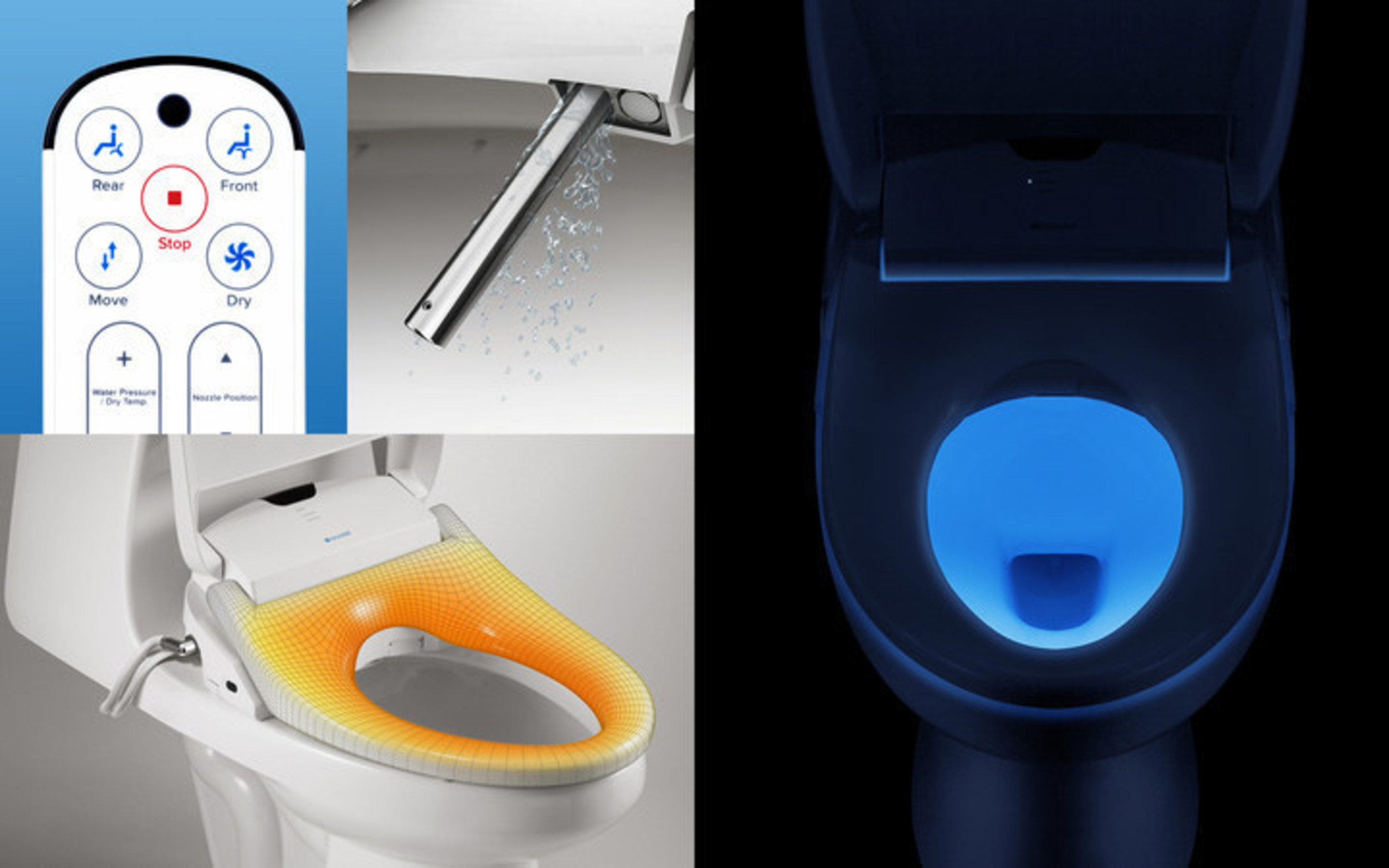 Marvelous Brondell Debuts Swash 1400 Advanced Bidet Toilet Seat A Ibusinesslaw Wood Chair Design Ideas Ibusinesslaworg