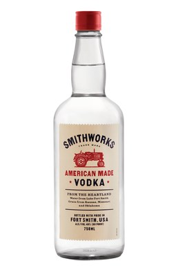Smithworks is currently available in Arkansas, Colorado, Kansas, Missouri and Oklahoma for a suggested retail price of $19.99 for a 750mL bottle