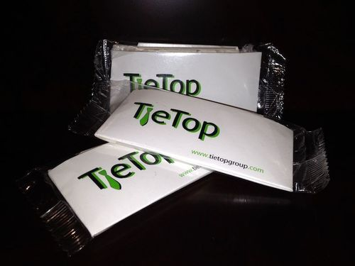 Presentation of the generic product Tietop. (PRNewsFoto/Tie Top Group USA)