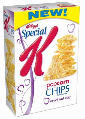 Special K(R) Popcorn Chips Sweet & Salty. (PRNewsFoto/Kellogg Company)