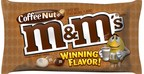 In honor of the brand's 75th anniversary, M&M'S asked fans to choose the brand's newest peanut-flavored addition to join Original Peanut on shelves.  With more than one million votes cast, M&M'S is proud to announce Coffee Nut as the flavor loved most! Fans can purchase M&M'S Coffee Nut at retailers nationwide in early August.