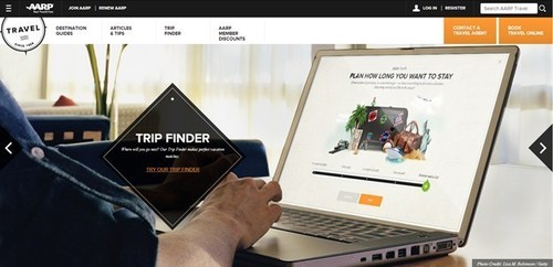 AARP Travel Website (PRNewsFoto/AARP)
